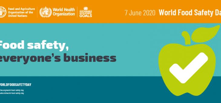 Dia Mundial da Segurança Alimentar – 07 de Junho